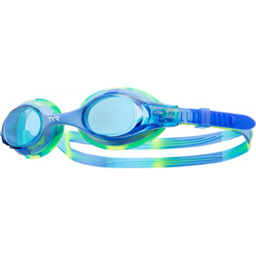 TYR Swimple Tie Dye Goggles Kids blue/blue/green